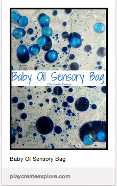 baby play sensory bags