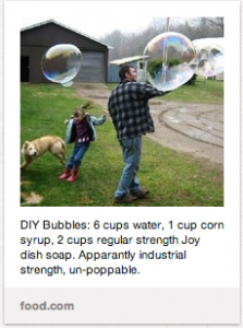 DIY Bubbles