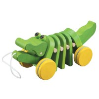 alligator pull toy for babies and toddlers